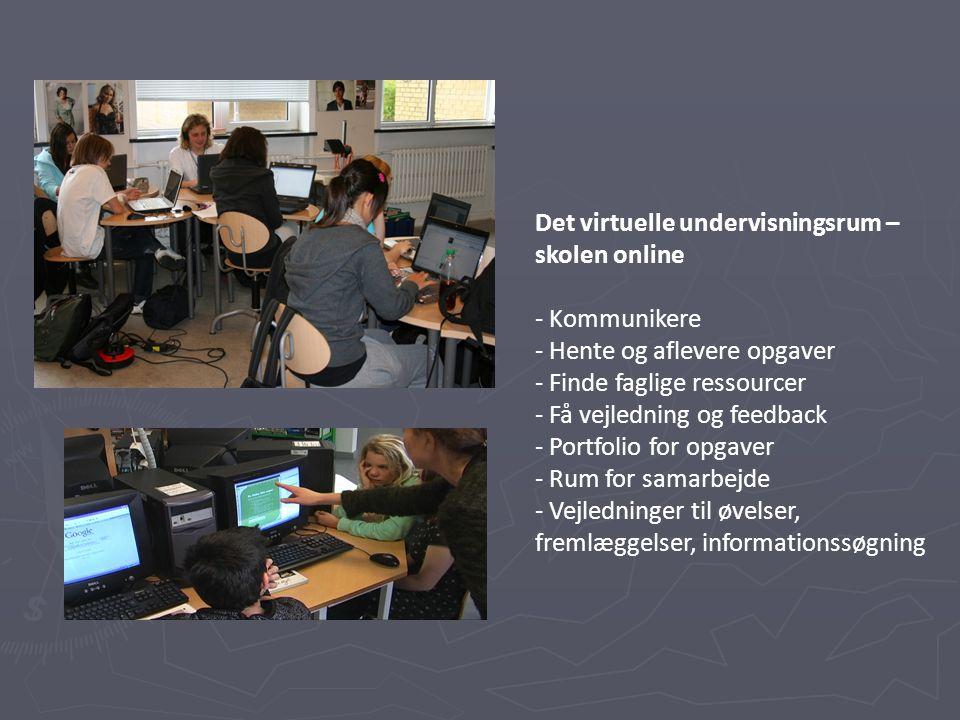 Det virtuelle undervisningsrum – skolen online