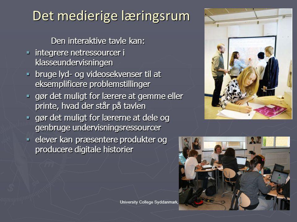 Det medierige læringsrum