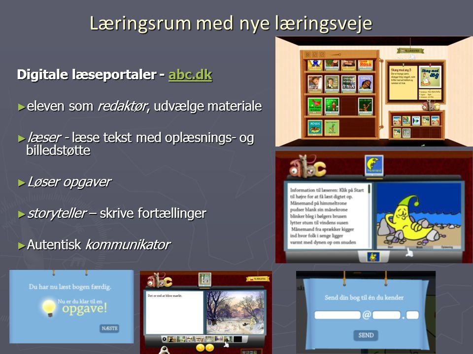 Læringsrum med nye læringsveje