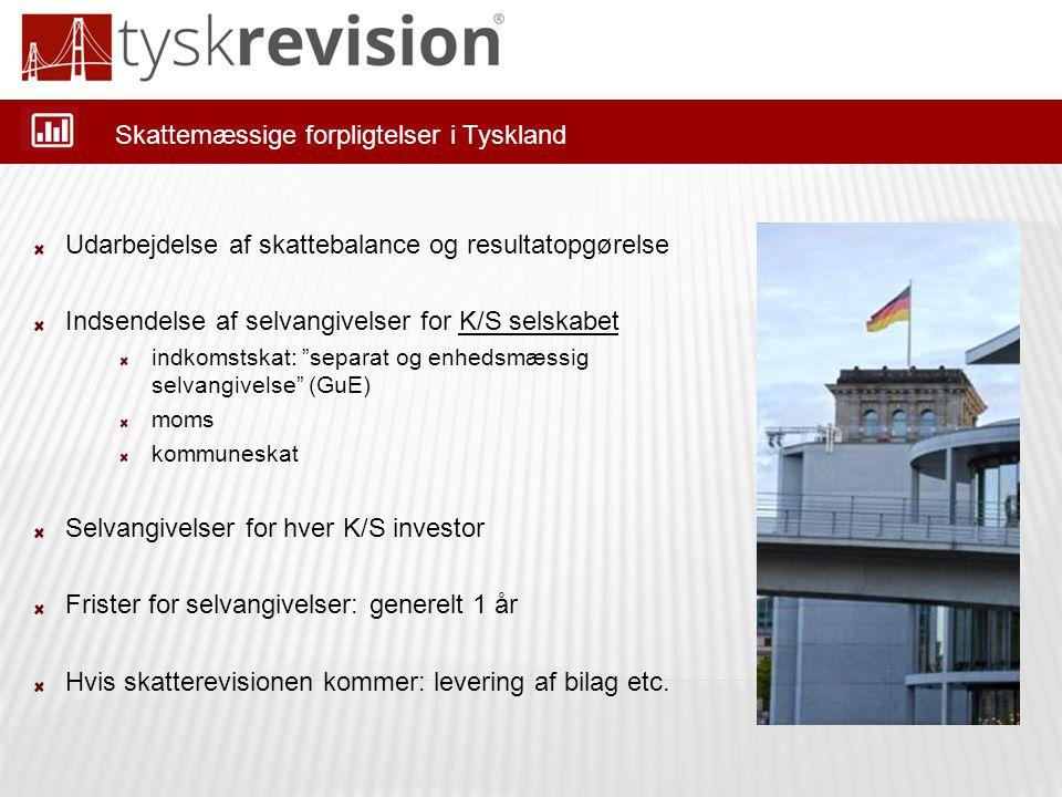 Skattemæssige forpligtelser i Tyskland