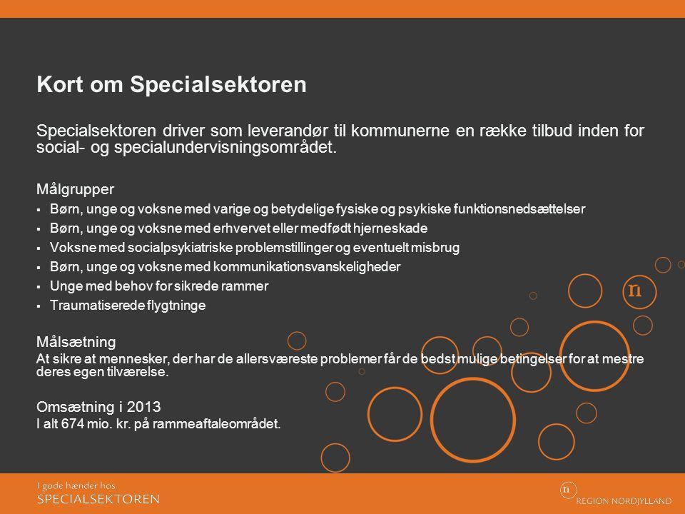 Kort om Specialsektoren
