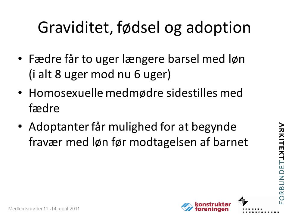 Graviditet, fødsel og adoption