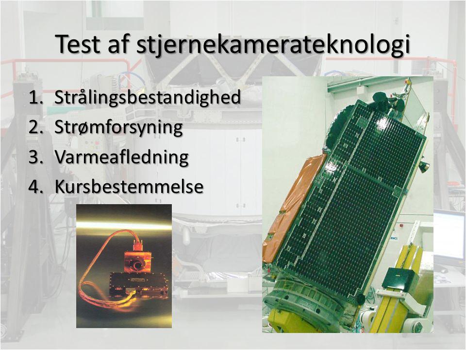 Test af stjernekamerateknologi