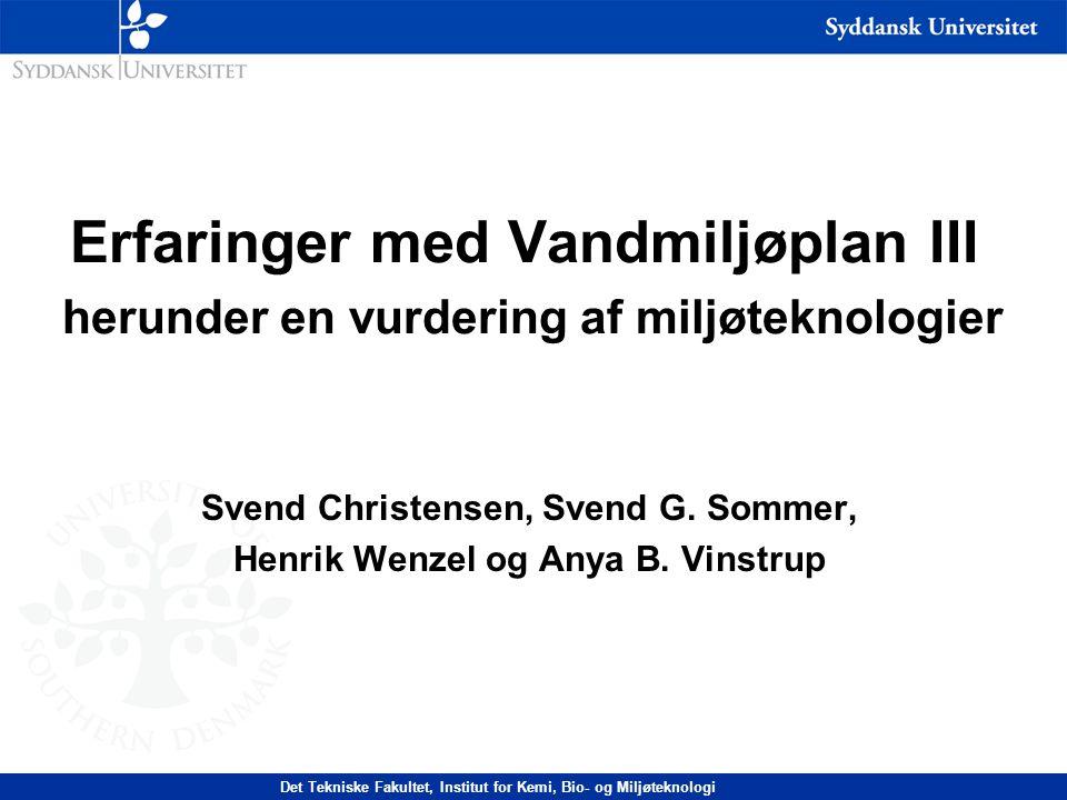 Svend Christensen, Svend G. Sommer, Henrik Wenzel og Anya B. Vinstrup