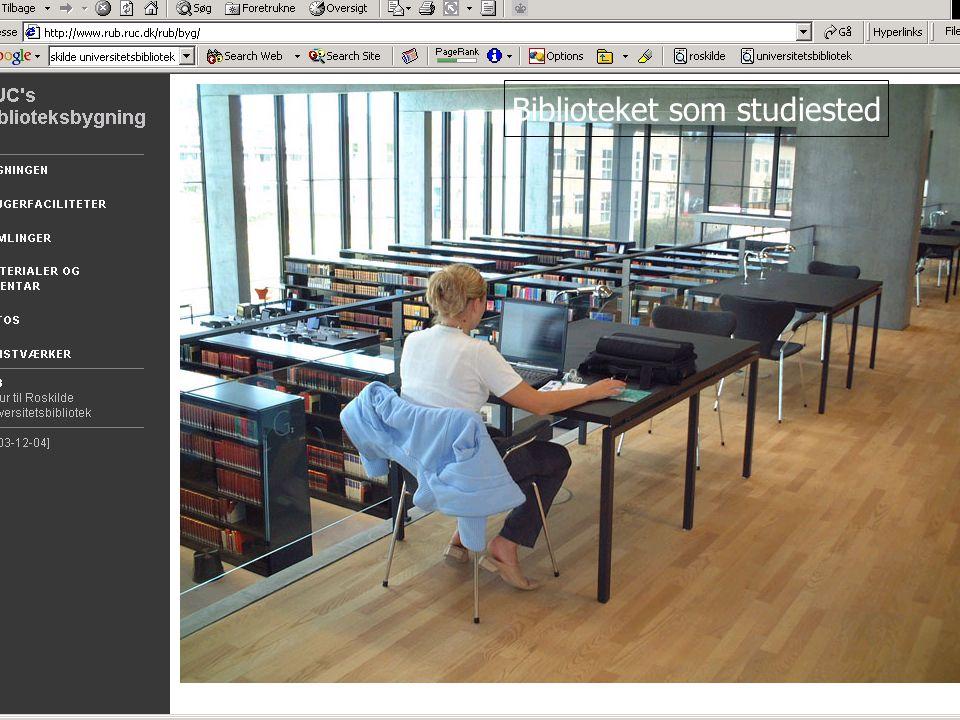 Biblioteket som studiested