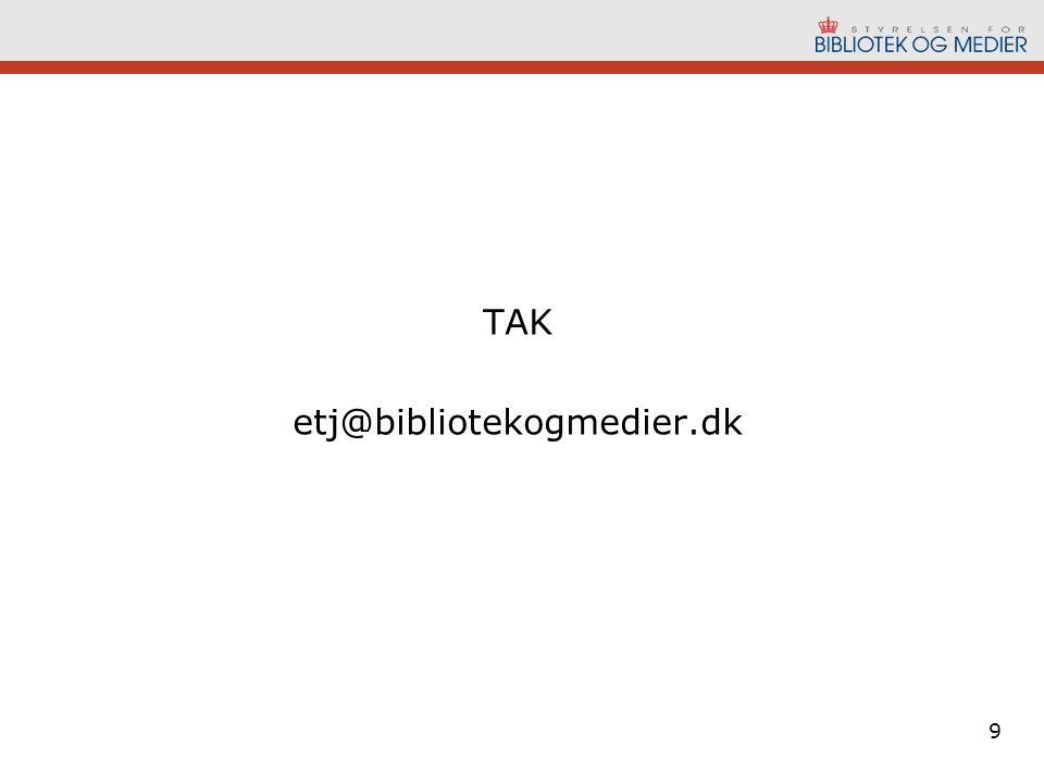 TAK etj@bibliotekogmedier.dk