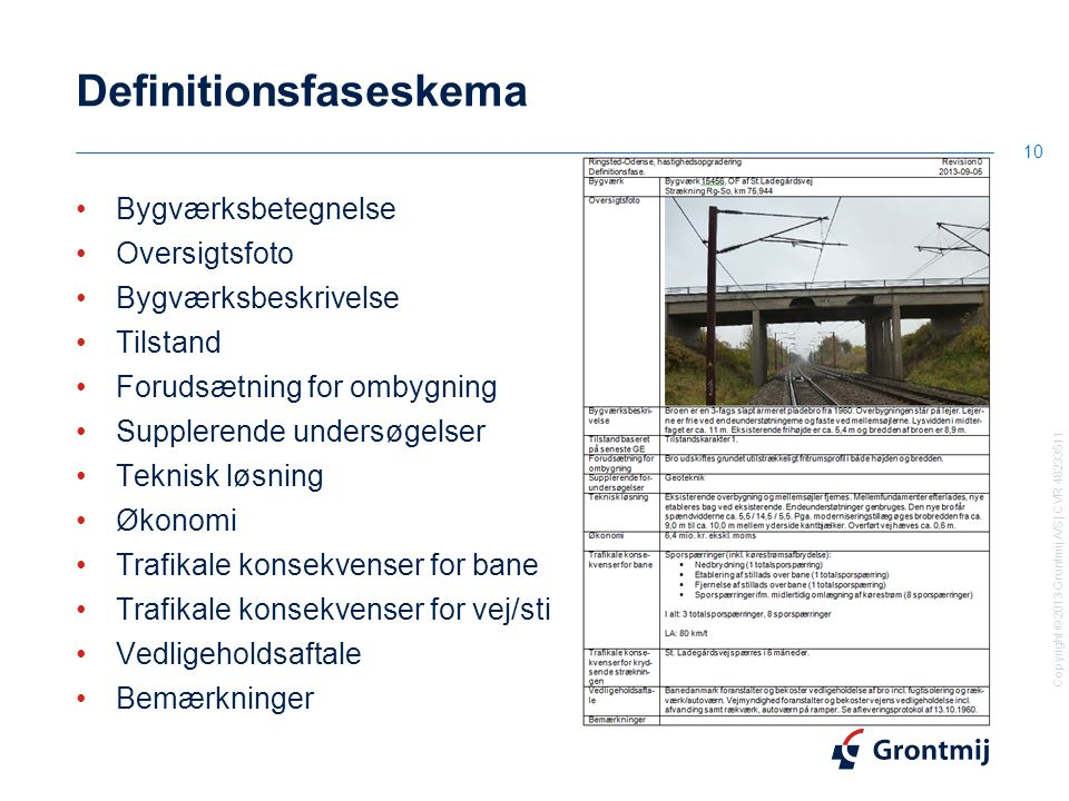Definitionsfaseskema