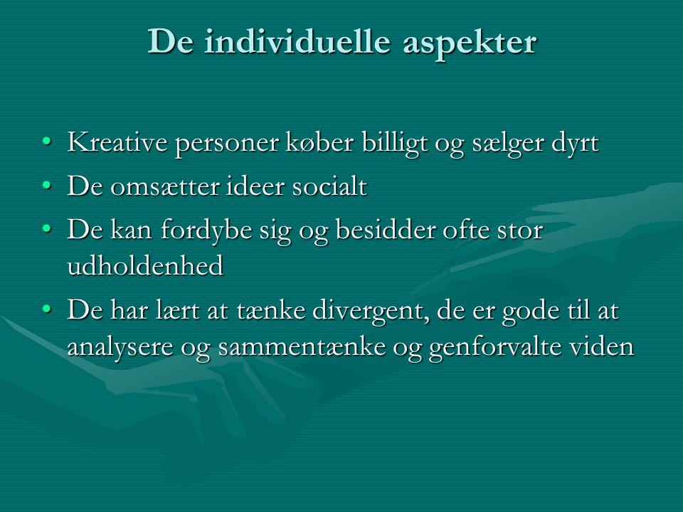 De individuelle aspekter
