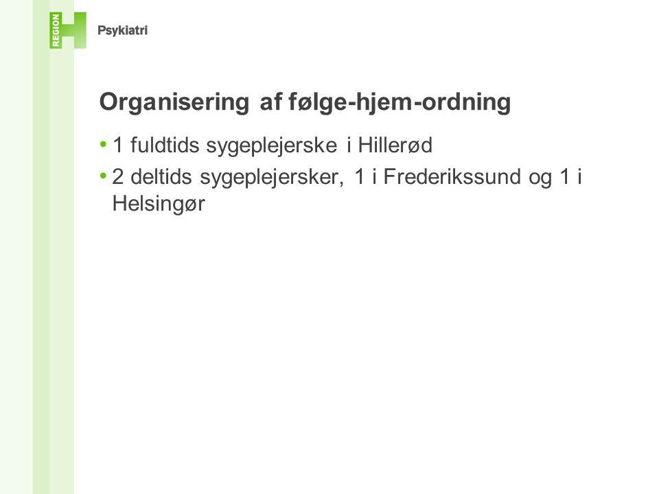 Organisering af følge-hjem-ordning