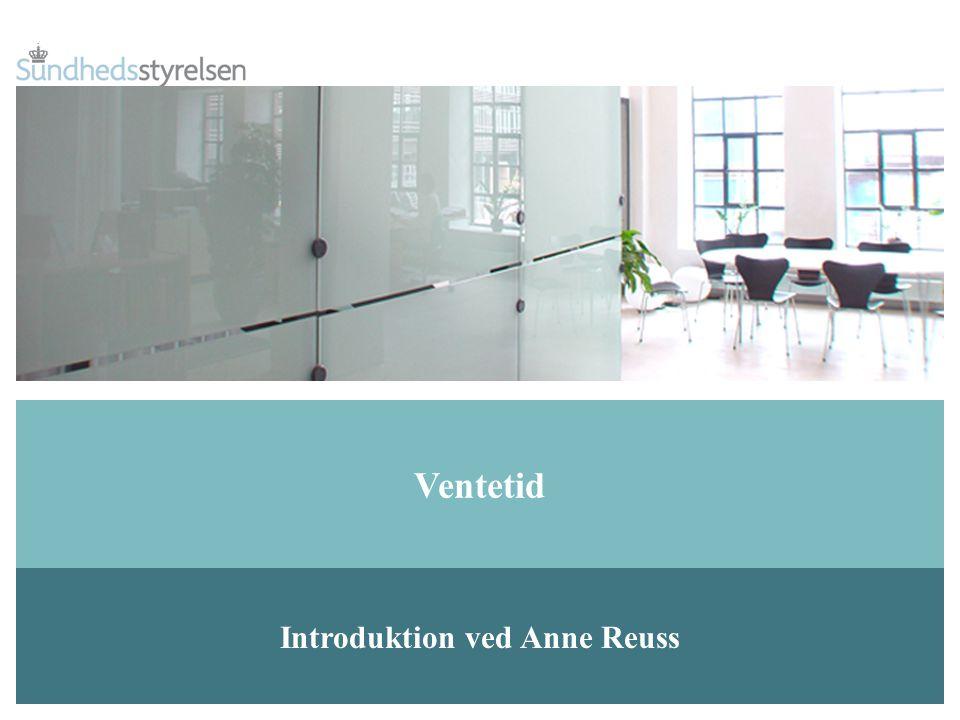 Introduktion ved Anne Reuss