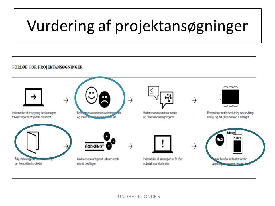Vurdering af projektansøgninger