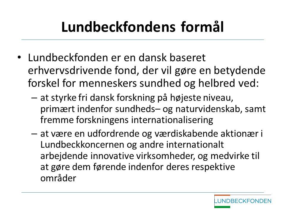 Lundbeckfondens formål