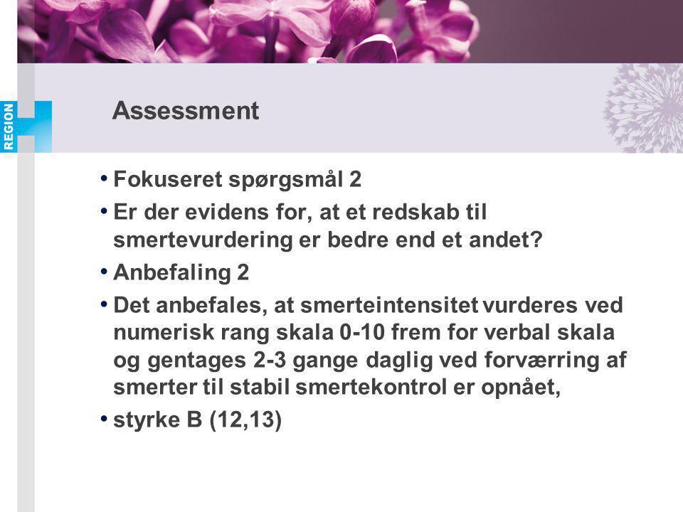 Assessment Fokuseret spørgsmål 2