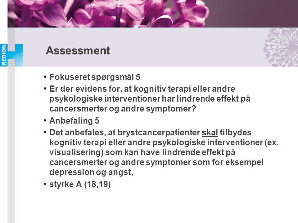 Assessment Fokuseret spørgsmål 5