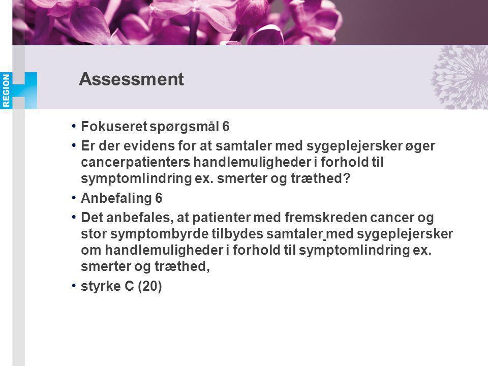 Assessment Fokuseret spørgsmål 6