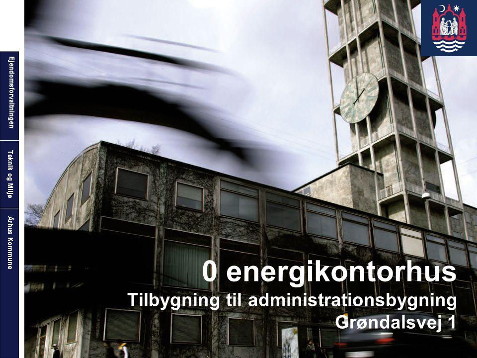 0 energikontorhus Tilbygning til administrationsbygning Grøndalsvej 1