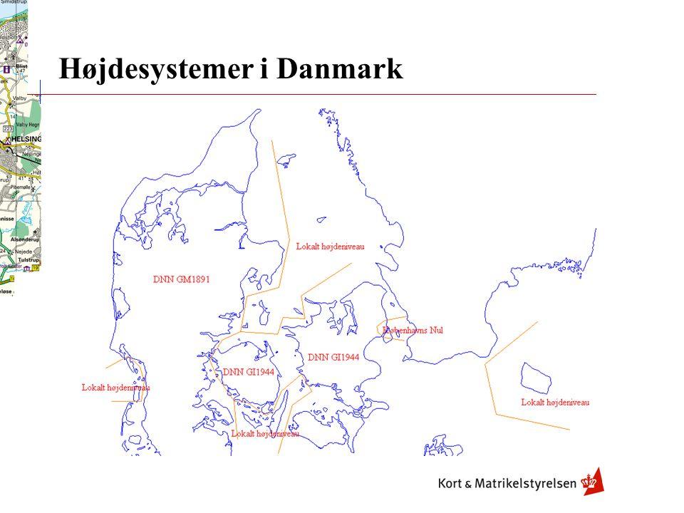 Højdesystemer i Danmark