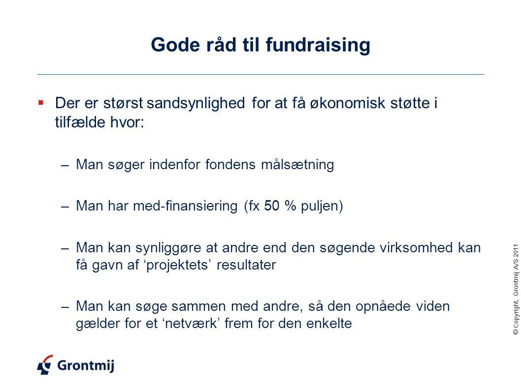 Gode råd til fundraising
