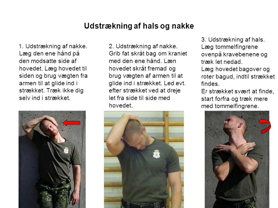 Udstrækning af hals og nakke