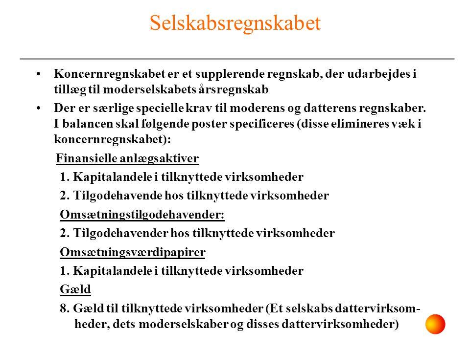 Koncernregnskaber Definition på koncerner i årsregnskabet - ppt video online download