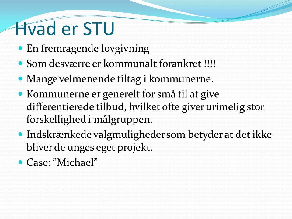 Hvad er STU En fremragende lovgivning