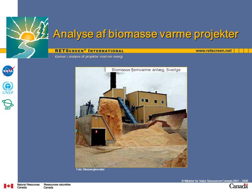 Biomasse fjernvarme anlæg, Sverige