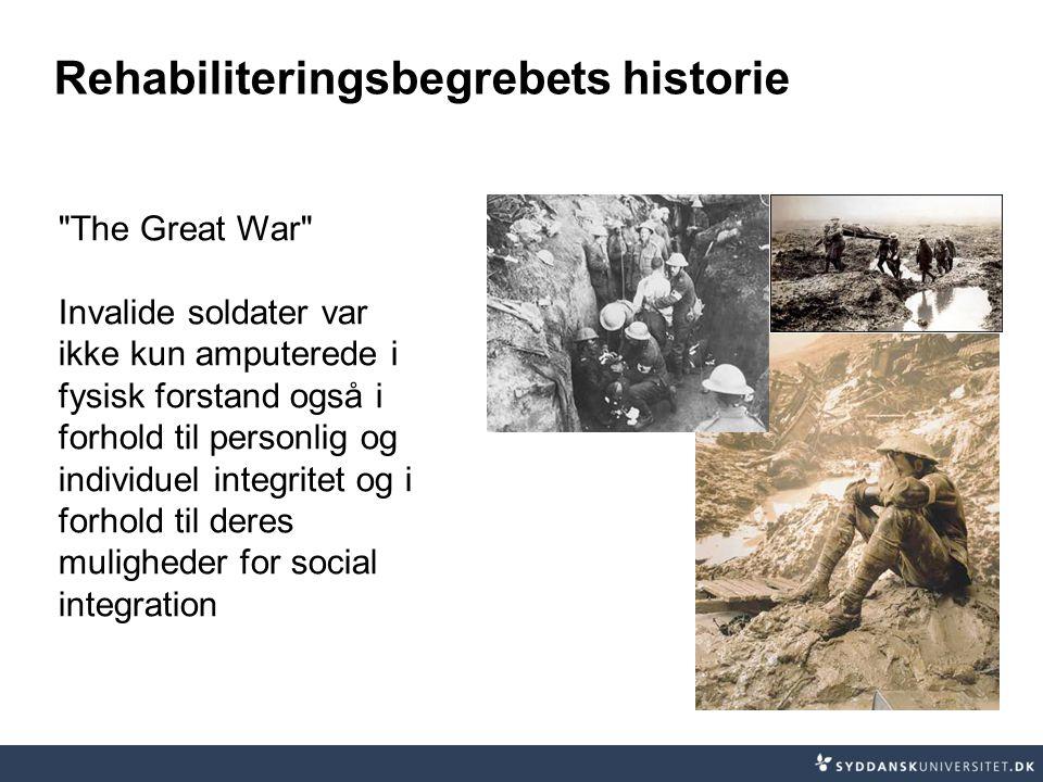 Rehabiliteringsbegrebets historie