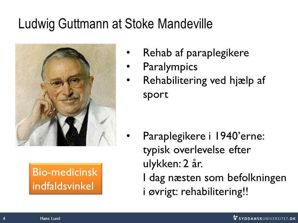 Ludwig Guttmann at Stoke Mandeville