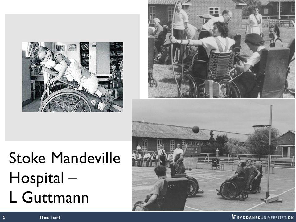 Stoke Mandeville Hospital – L Guttmann Hans Lund