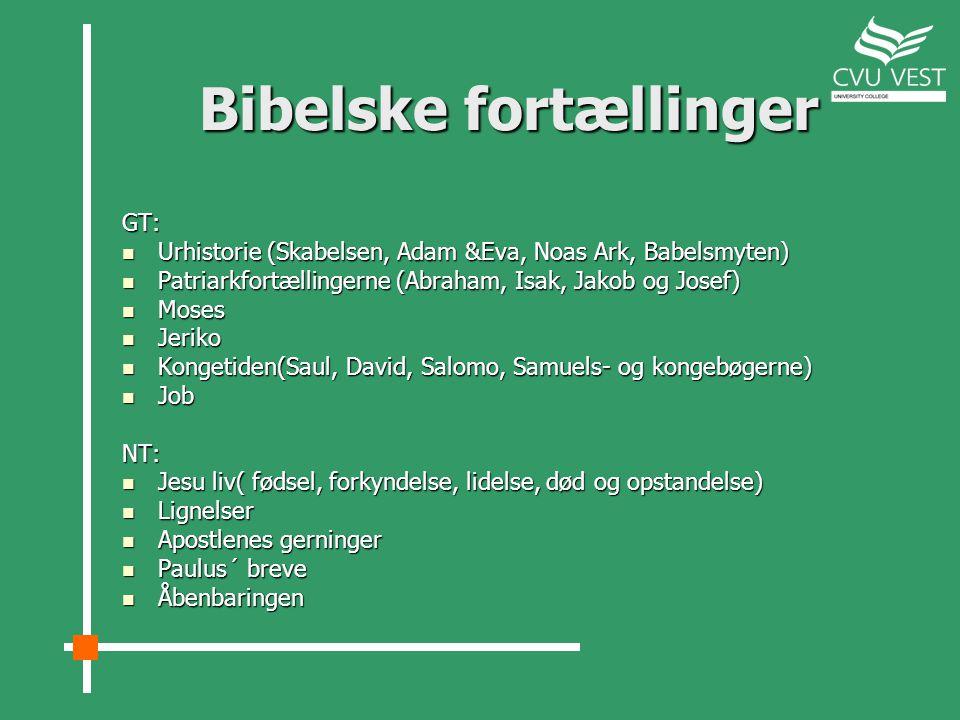 Bibelske fortællinger