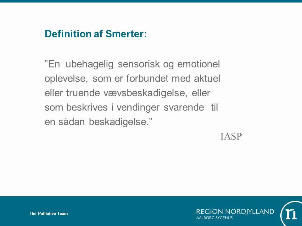 Definition af Smerter: