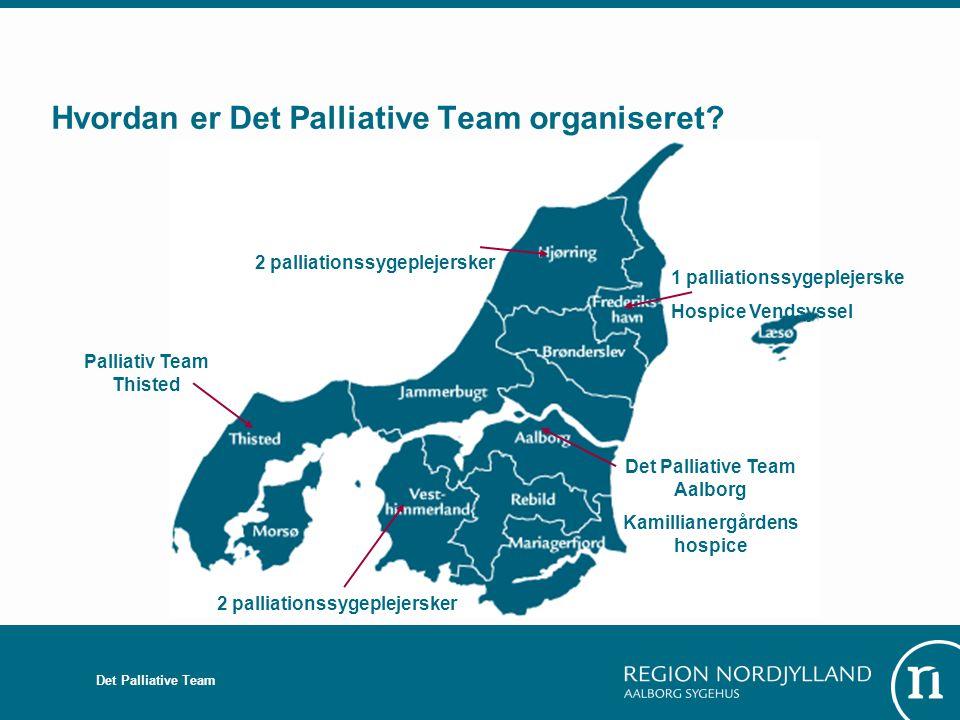 Hvordan er Det Palliative Team organiseret