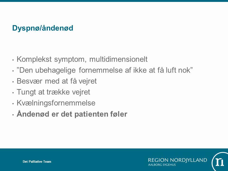 Komplekst symptom, multidimensionelt