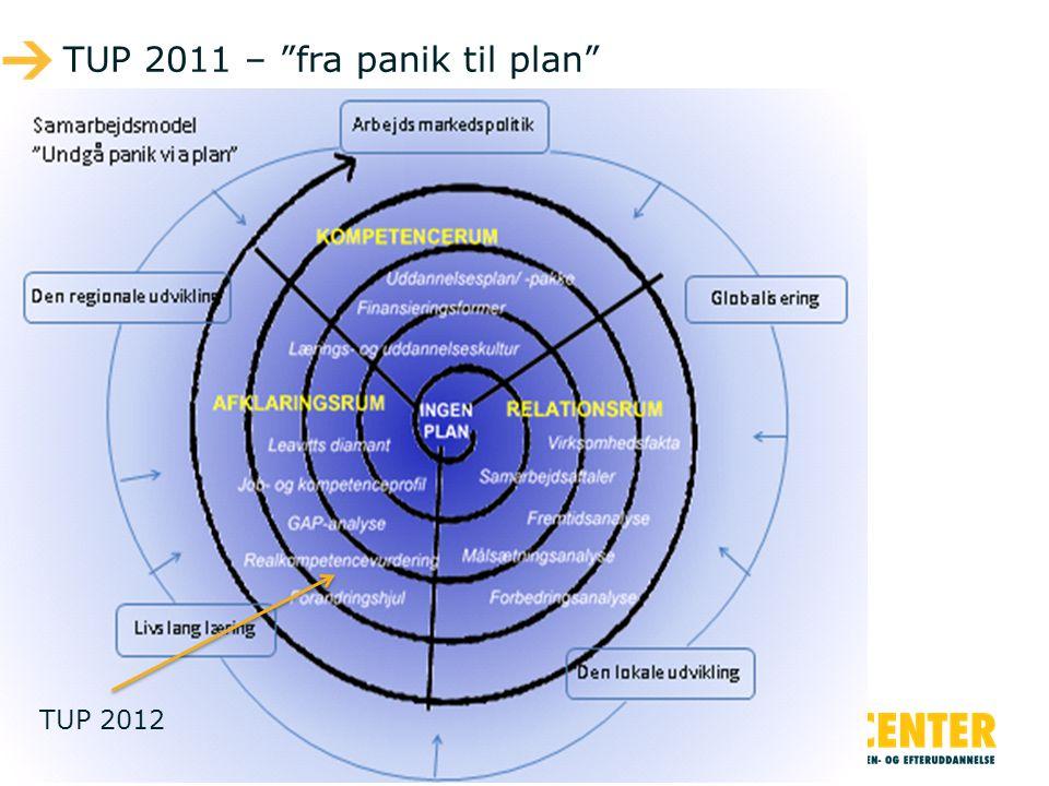 TUP 2011 – fra panik til plan
