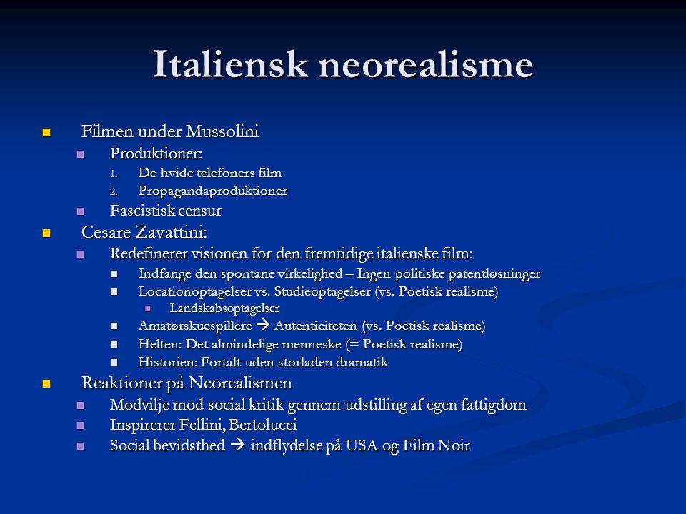 Italiensk neorealisme