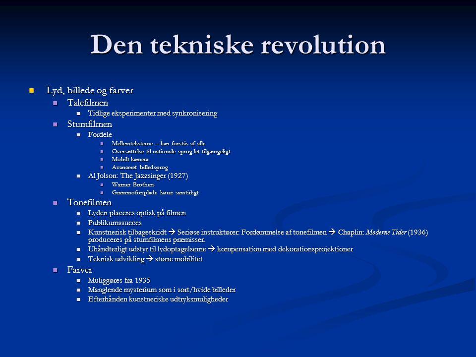 Den tekniske revolution
