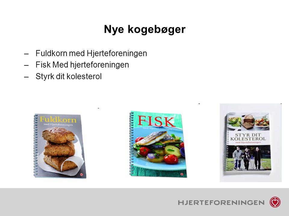 Nye kogebøger Fuldkorn med Hjerteforeningen Fisk Med hjerteforeningen