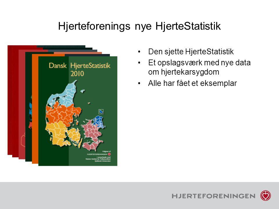Hjerteforenings nye HjerteStatistik