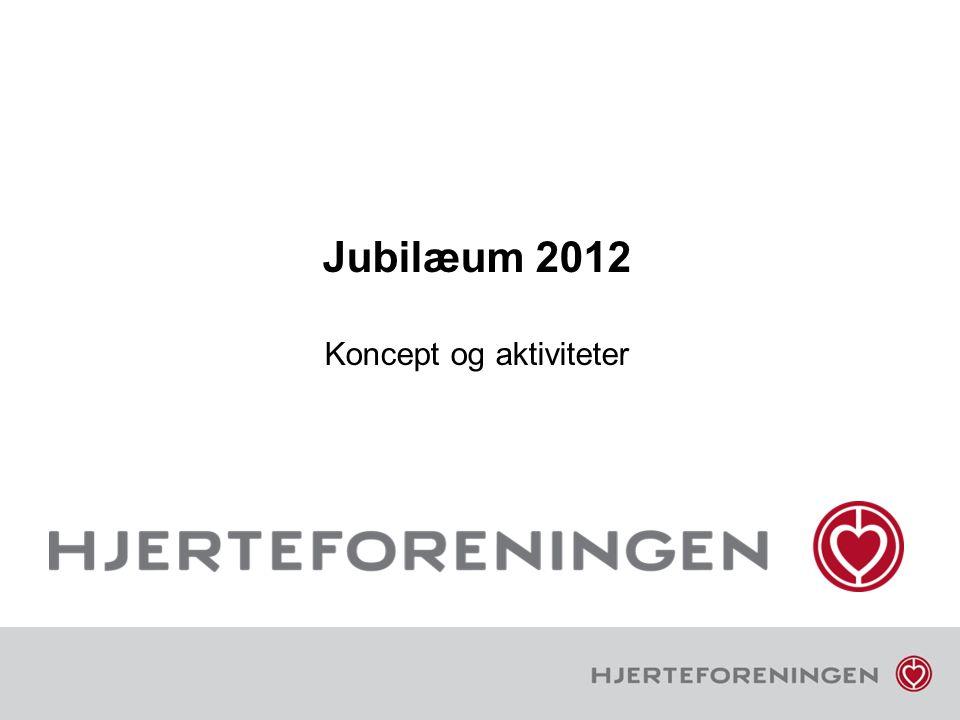 Jubilæum 2012 Koncept og aktiviteter