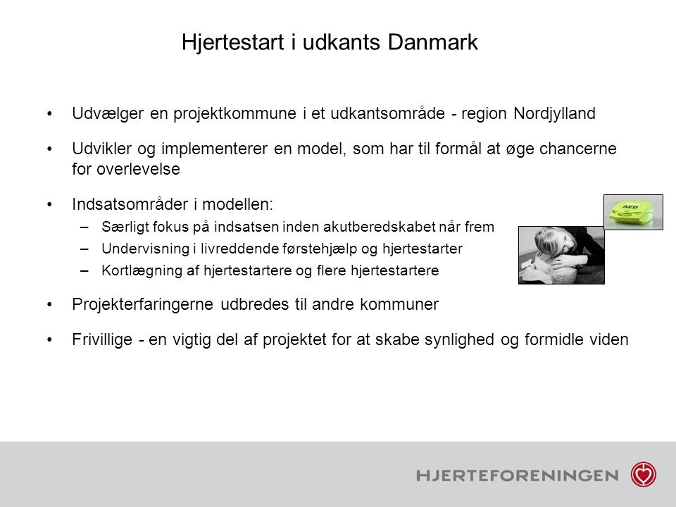 Hjertestart i udkants Danmark