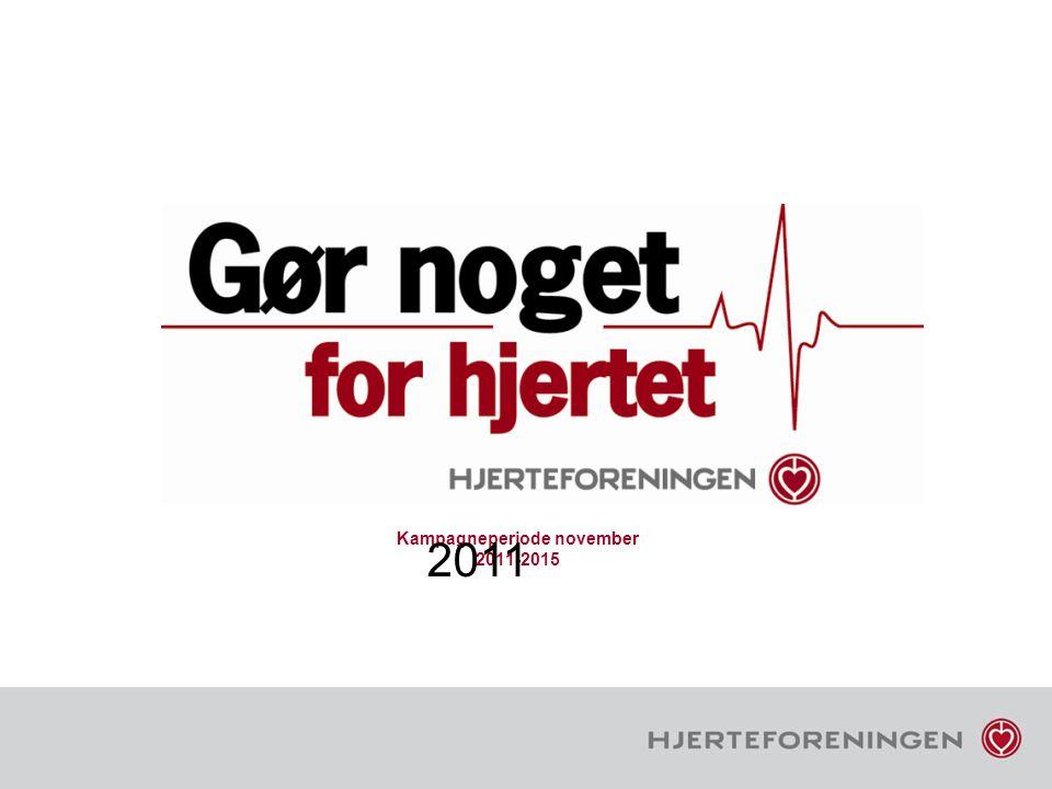 Kampagneperiode november 2011-2015
