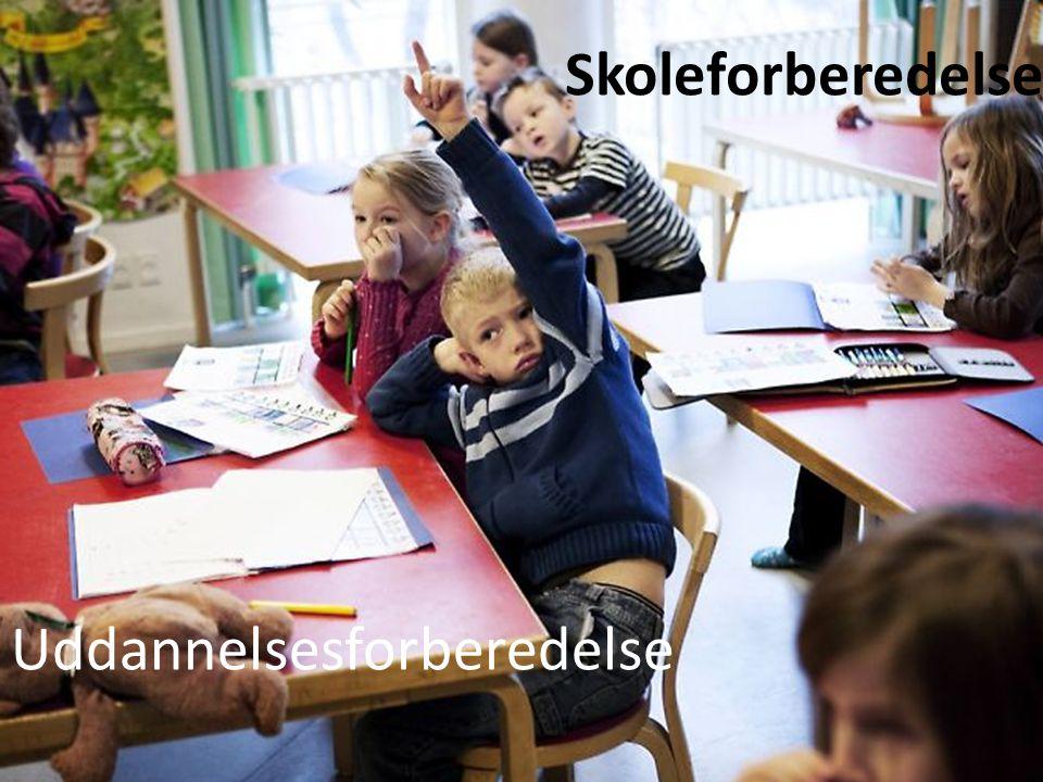 Skoleforberedelse Uddannelsesforberedelse