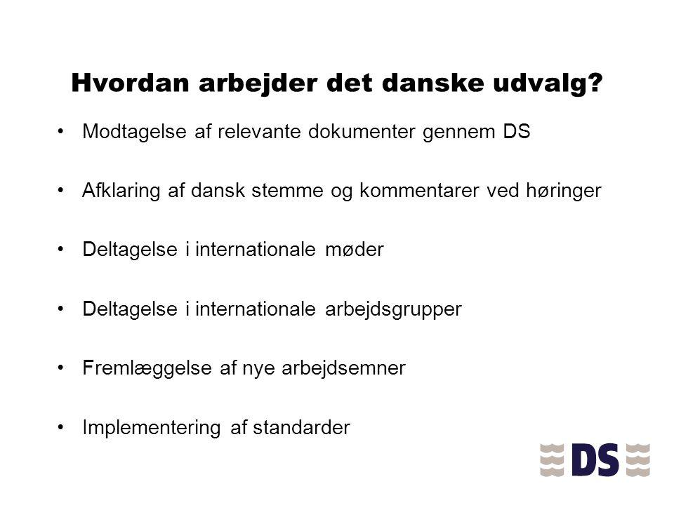 Hvordan arbejder det danske udvalg