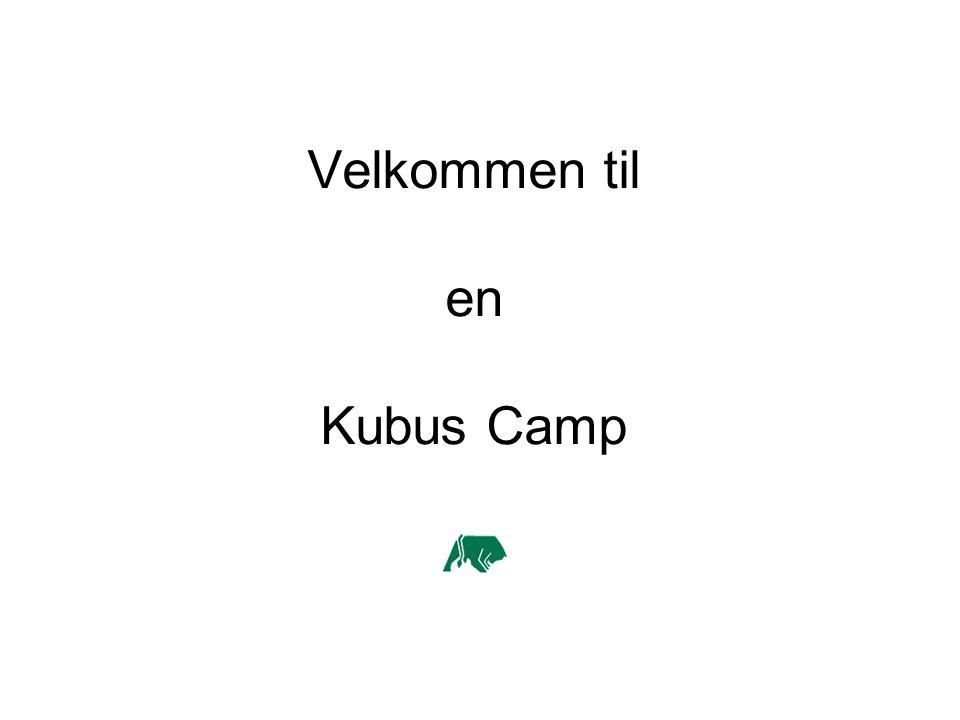 Velkommen til en Kubus Camp
