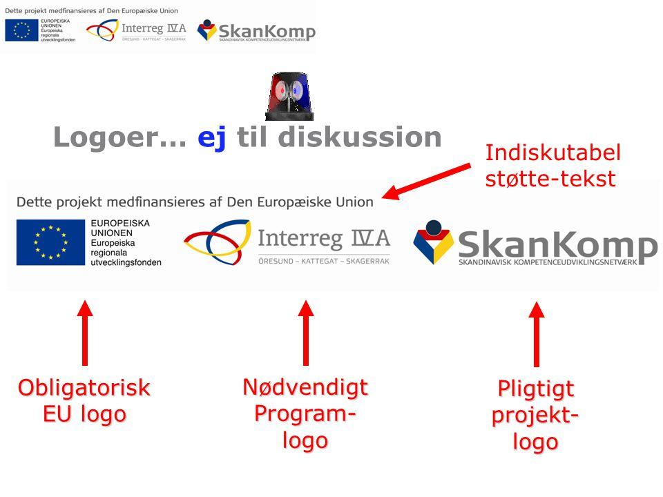 Logoer… ej til diskussion