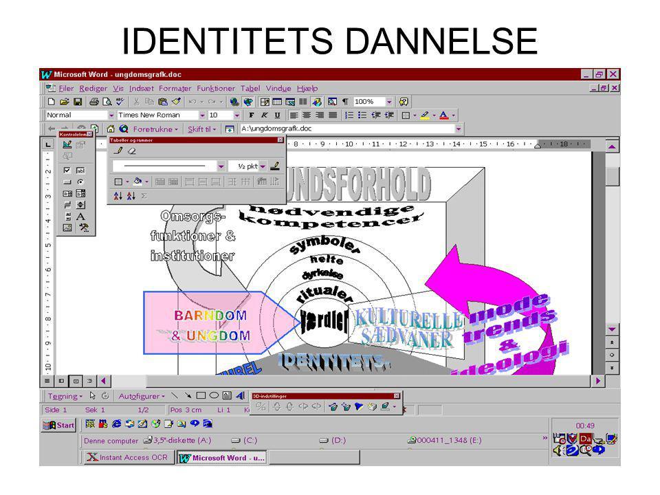 IDENTITETS DANNELSE