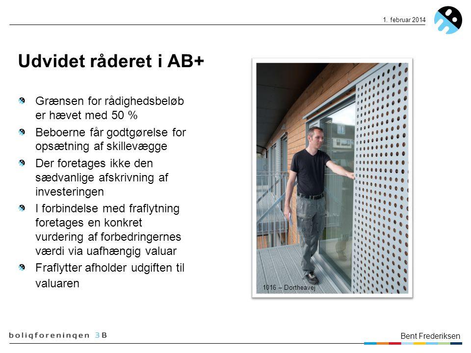 Udvidet råderet i AB+ Grænsen for rådighedsbeløb er hævet med 50 %