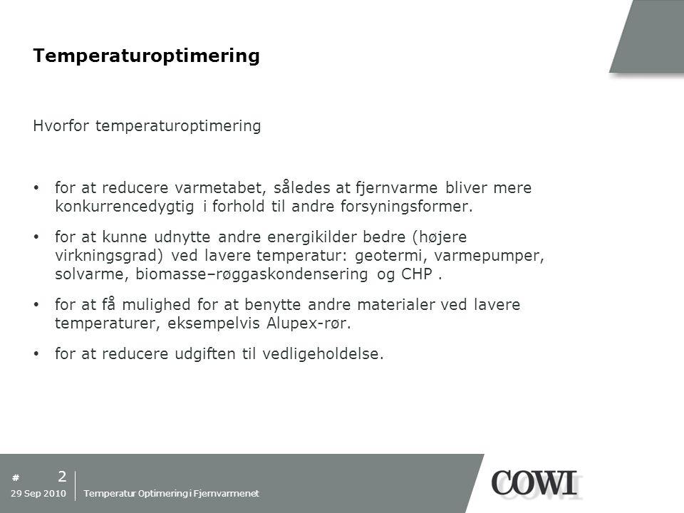 Temperaturoptimering