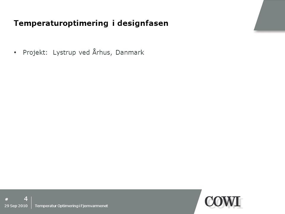 Temperaturoptimering i designfasen