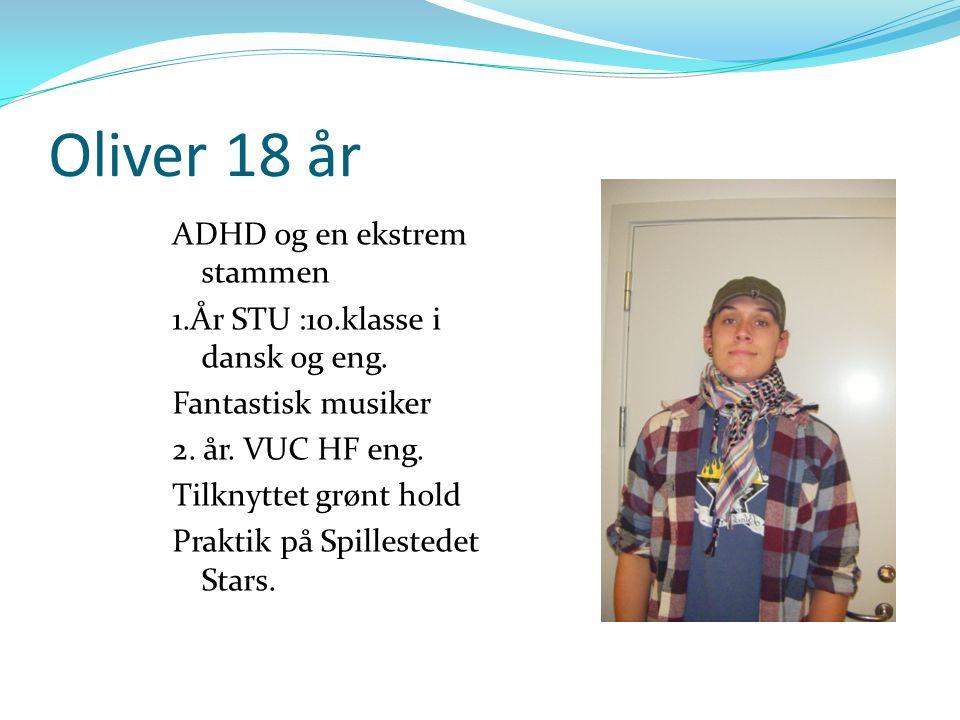 Oliver 18 år